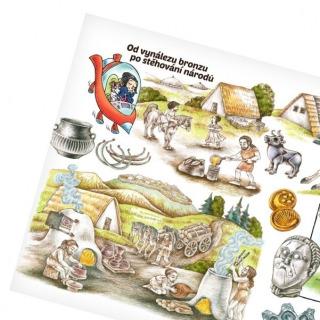 Obrázek 5 produktu Albi Kouzelné čtení Hravé české dějiny 1
