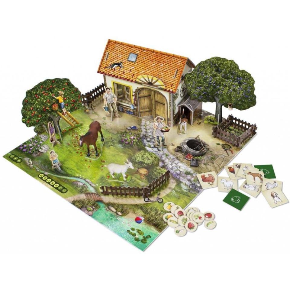 Obrázek 1 produktu Albi Kouzelné čtení Na farmě hra 3D
