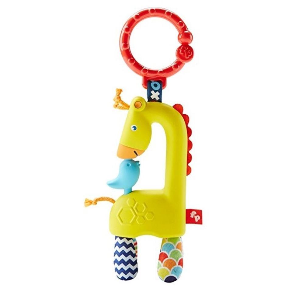 Obrázek 1 produktu Fisher Price Závěsné zvířátko Žirafa Mattel DYF92 (FFB65)