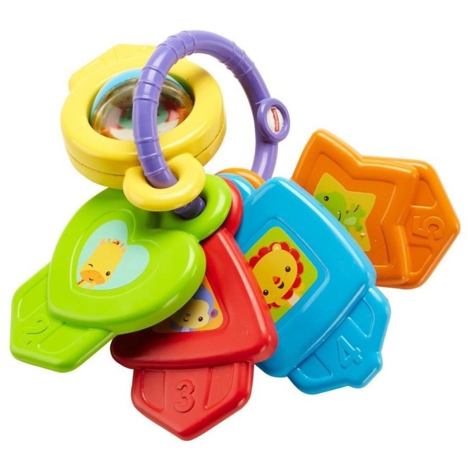 Obrázek 1 produktu Fisher Price Barevné klíčky, Mattel CMY40