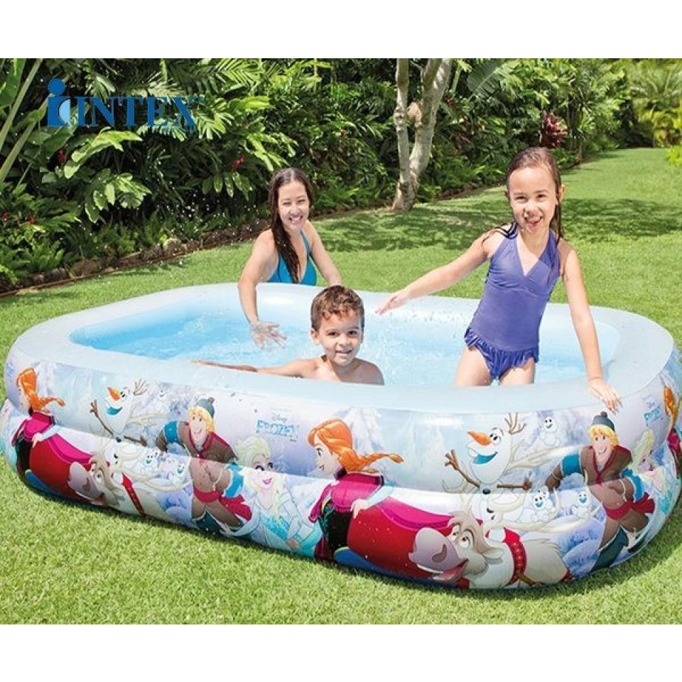 Obrázek 1 produktu Intex 58469 Bazén Frozen 260 x 175 x 55cm
