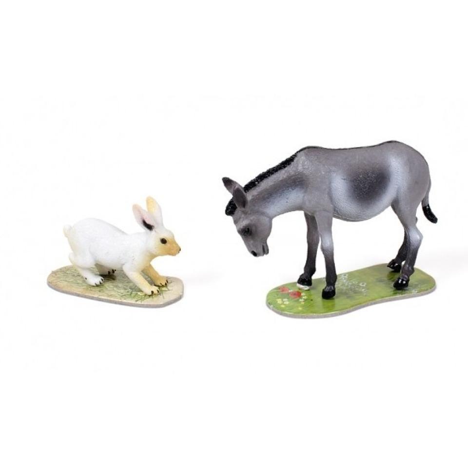 Obrázek 1 produktu Albi Kouzelné čtení rozšíření hry Na farmě oslík a králík