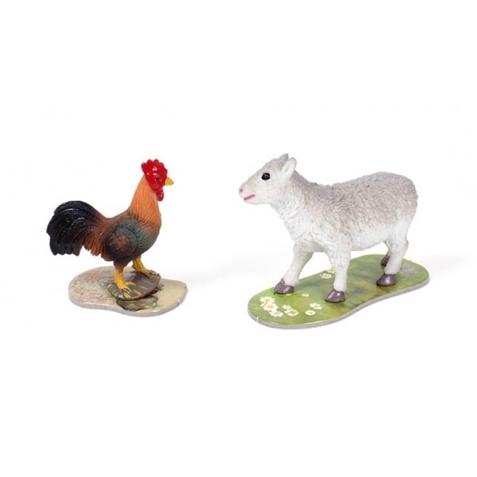 Obrázek 1 produktu Albi Kouzelné čtení rozšíření hry Na farmě ovečka a kohout