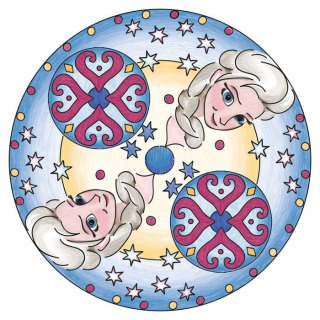 Obrázek 3 produktu Mandala Ledové království střední