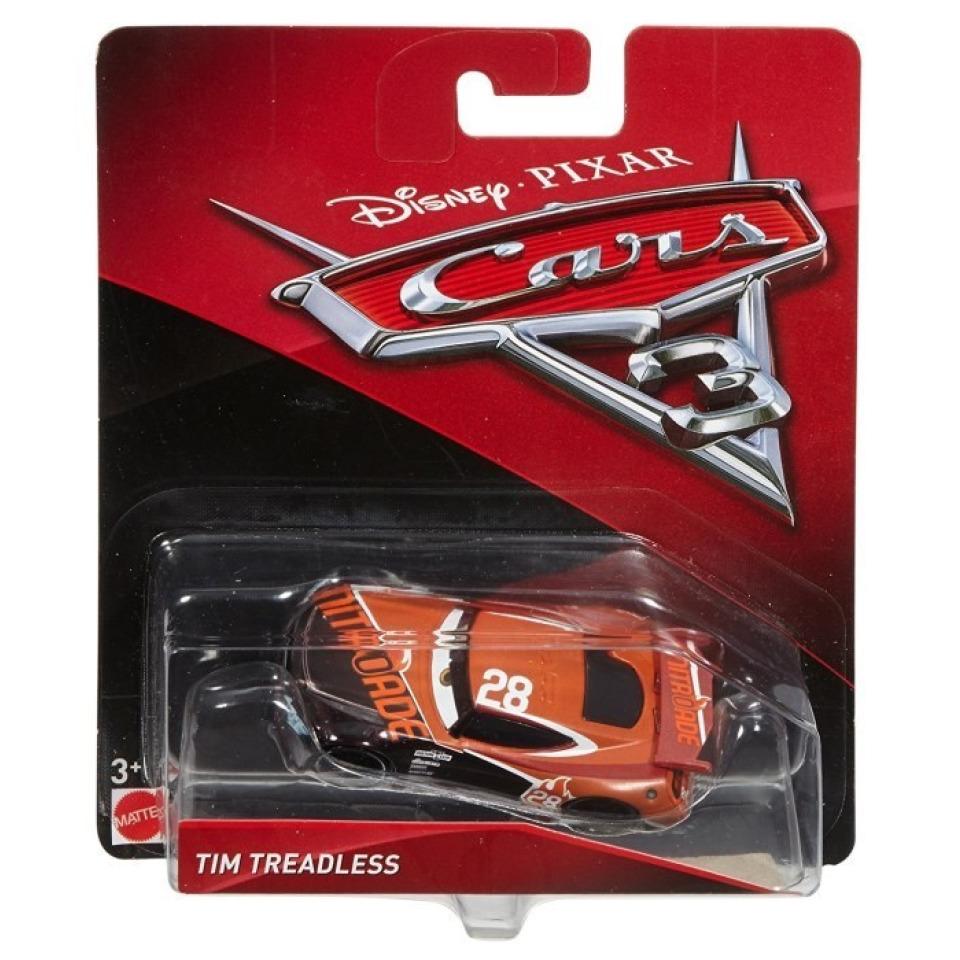 Obrázek 1 produktu Cars 3 Autíčko Tim Treadless, Mattel DXV41