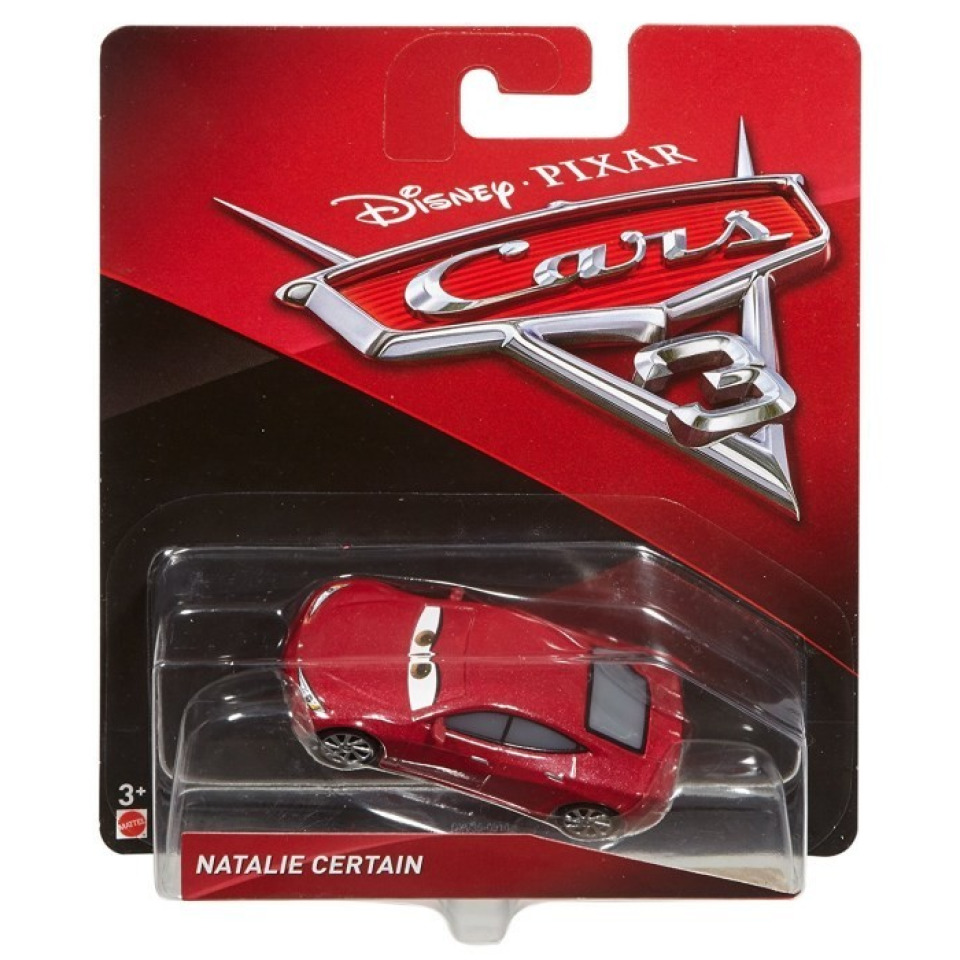 Obrázek 1 produktu Cars 3 Autíčko Natalie Certain, Mattel DXV35