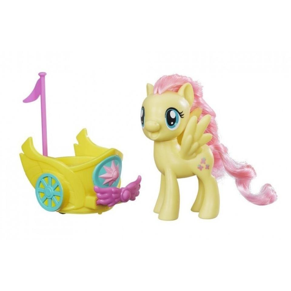 Obrázek 1 produktu MLP My Little Pony Poník s vozíkem Fluttershy, Hasbro B9836