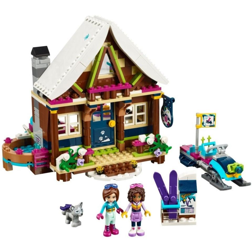 Obrázek 1 produktu LEGO Friends 41323 Chata v zimním středisku
