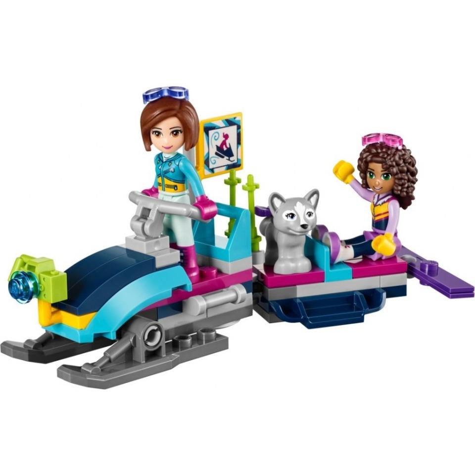 Obrázek 2 produktu LEGO Friends 41323 Chata v zimním středisku
