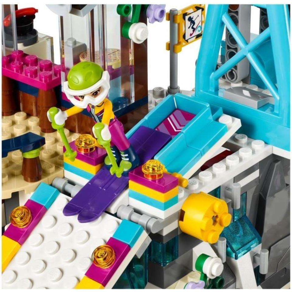 Obrázek 4 produktu LEGO Friends 41324 Lyžařský vlek v zimním středisku