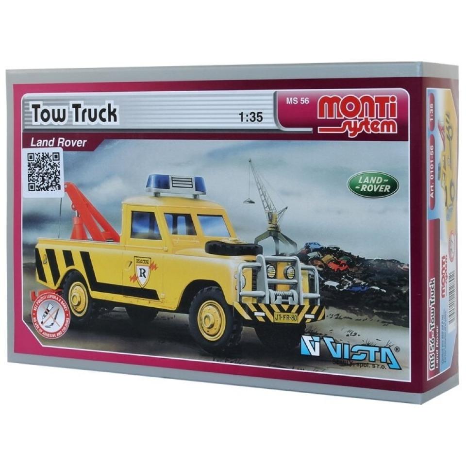 Obrázek 1 produktu Monti 56 Tow Truck Land Rover 1:35