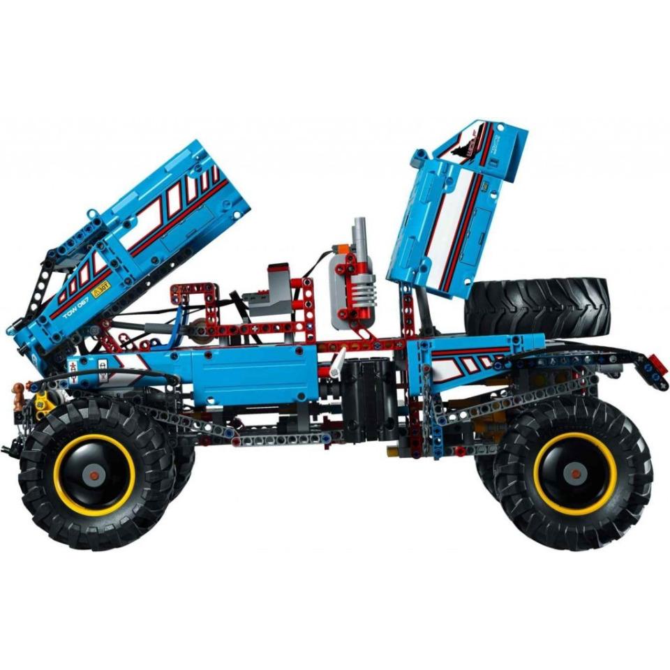 Obrázek 4 produktu LEGO TECHNIC 42070 Terénní odtahový vůz 6x6