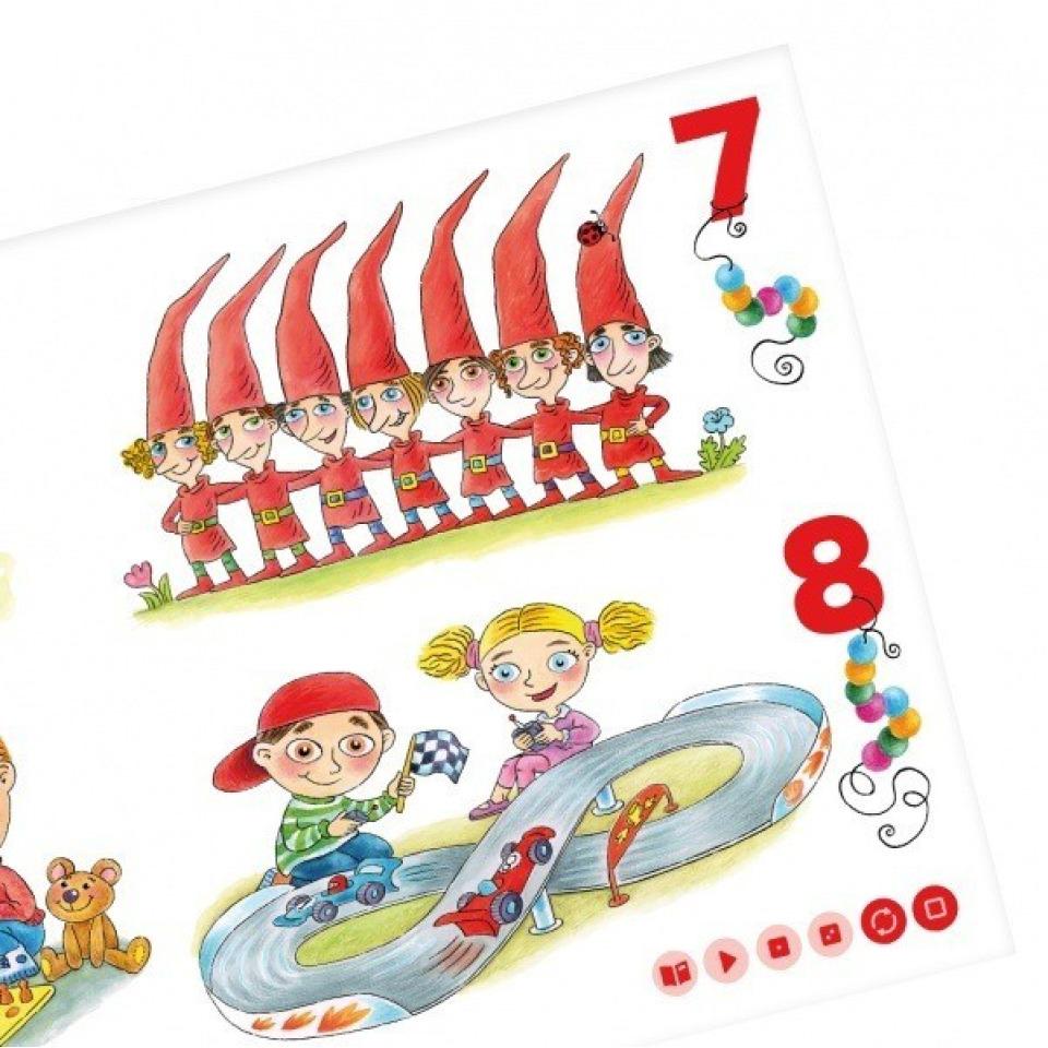Obrázek 1 produktu Albi Kouzelné čtení Moje první čísla