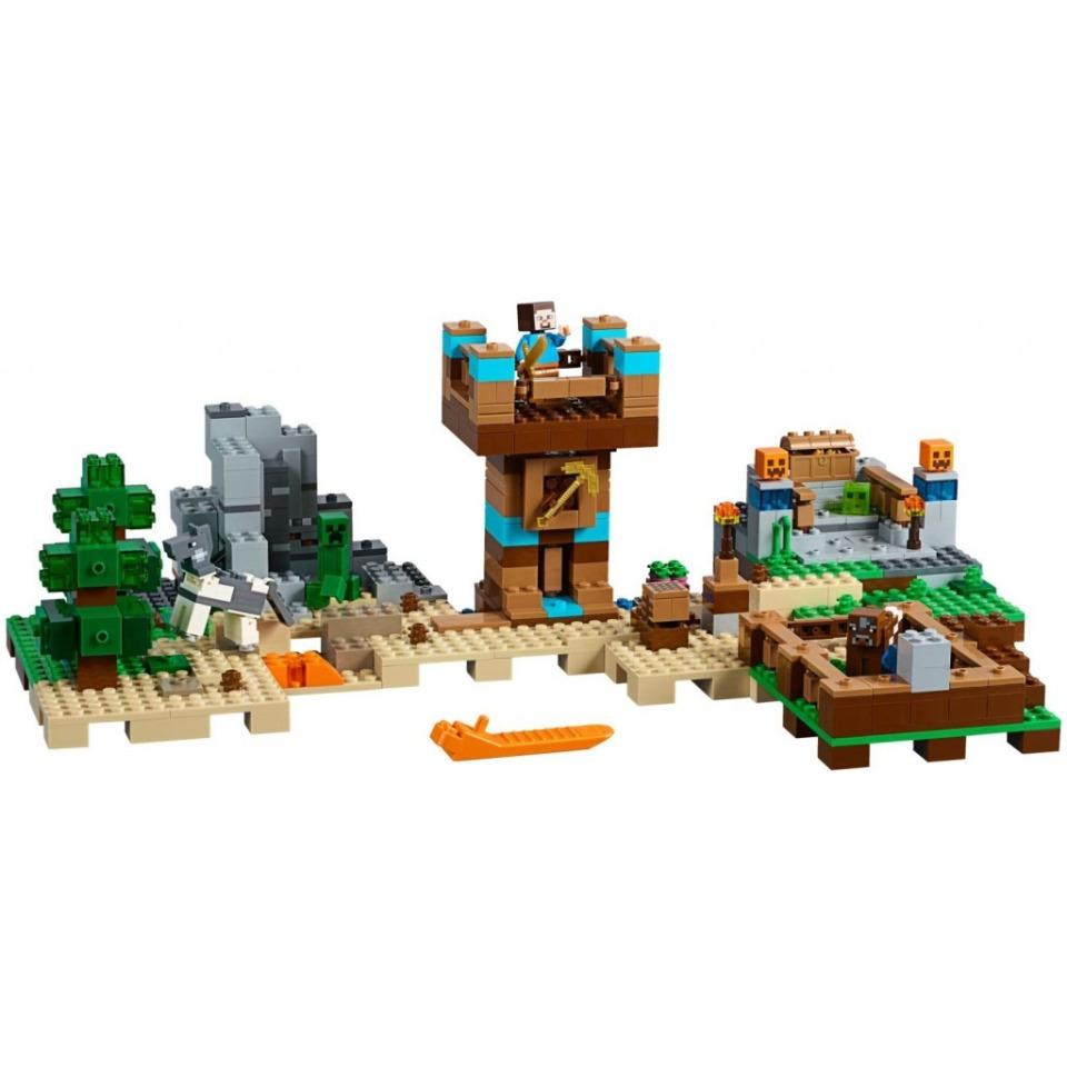 Obrázek 1 produktu LEGO Minecraft 21135 Kreativní box 2.0
