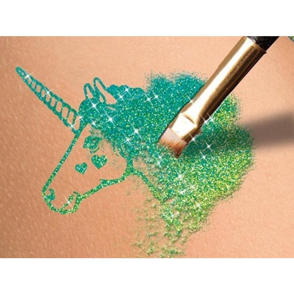 Obrázek 2 produktu Fashion Glitter Třpytkové tetování na obličej Kočka