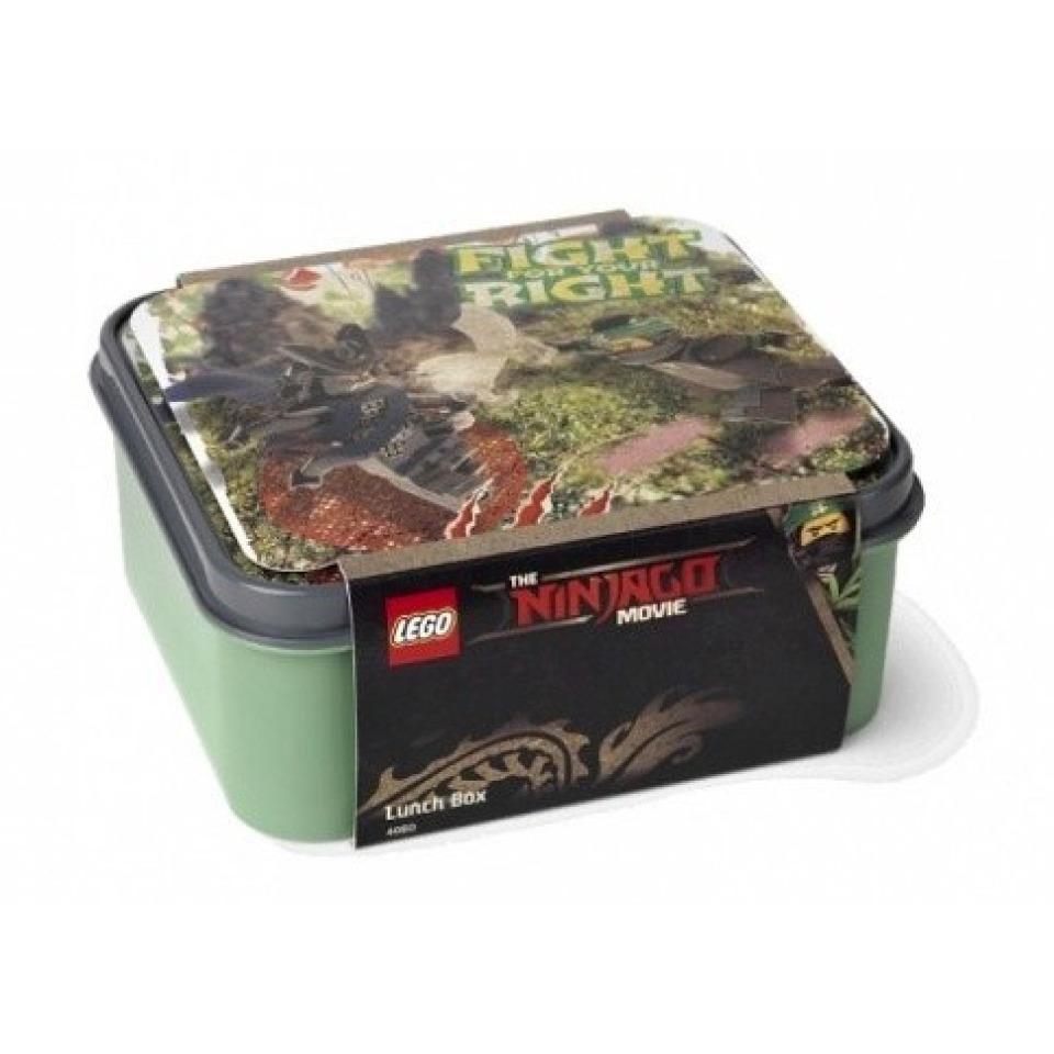Obrázek 1 produktu LEGO Svačinový box Ninjago Movie army zelený