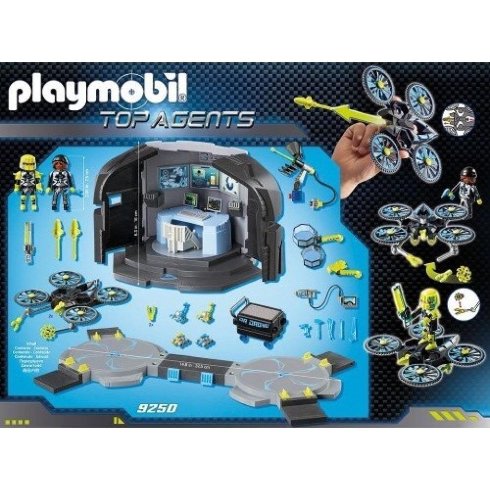 Obrázek 1 produktu Playmobil 9250 Dr. Drone's Velitelské centrum