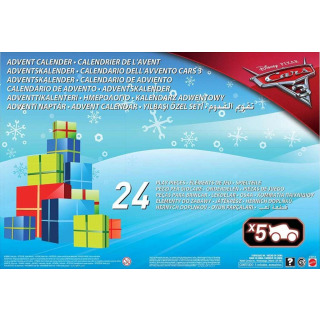 Obrázek 4 produktu Adventní kalendář Cars 3, Mattel FGV14