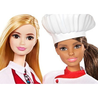 Obrázek 3 produktu Barbie Kuchařka s kamarádkou, Mattel FCP66