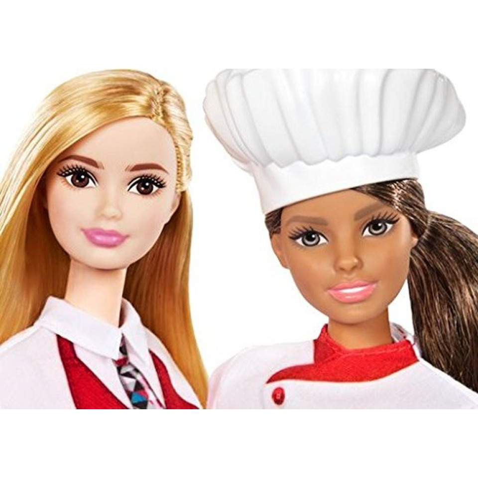 Obrázek 2 produktu Barbie Kuchařka s kamarádkou, Mattel FCP66