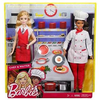 Obrázek 4 produktu Barbie Kuchařka s kamarádkou, Mattel FCP66