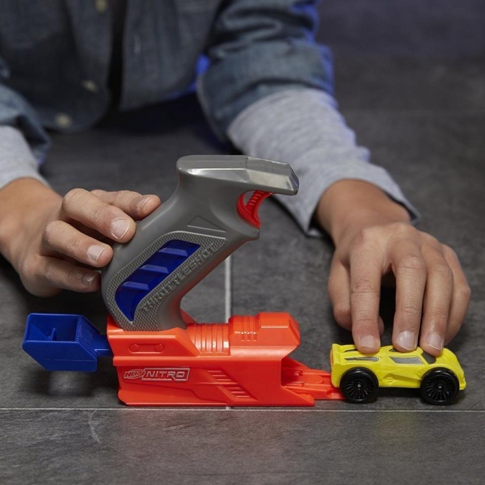 Obrázek 2 produktu NERF NitroThrottleshot Blizt žluté vozidlo, Hasbro C0782