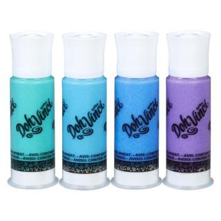 Obrázek 2 produktu Play Doh Dohvinci 4 náhradní tuby -zelená, tyrkysová, modrá, fialová