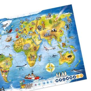 Obrázek 2 produktu Albi Kouzelné čtení Puzzle Svět