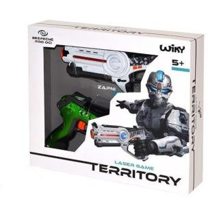 Obrázek 2 produktu Territory duopack 2 laserové pistole bílá-zelená