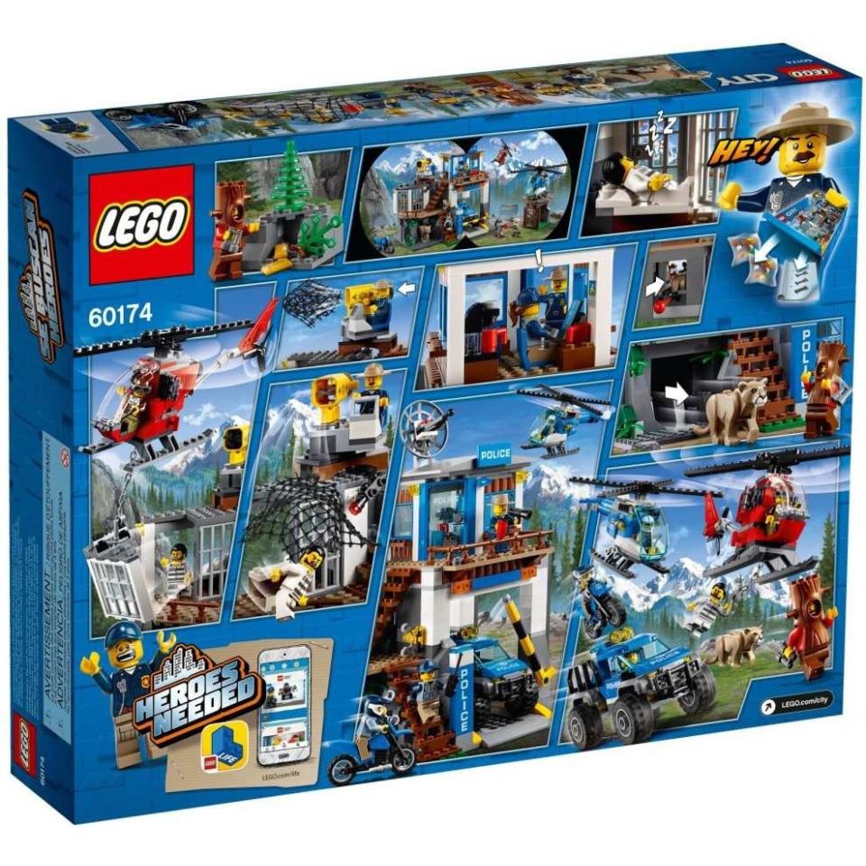Obrázek 1 produktu LEGO CITY 60174 Horská policejní stanice