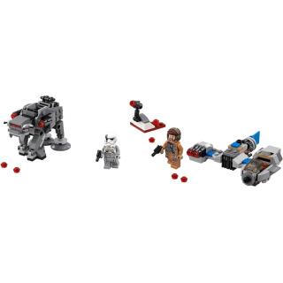 Obrázek 3 produktu LEGO Star Wars 75195 Snežný spídr™ a kráčející kolos Prvního řádu™