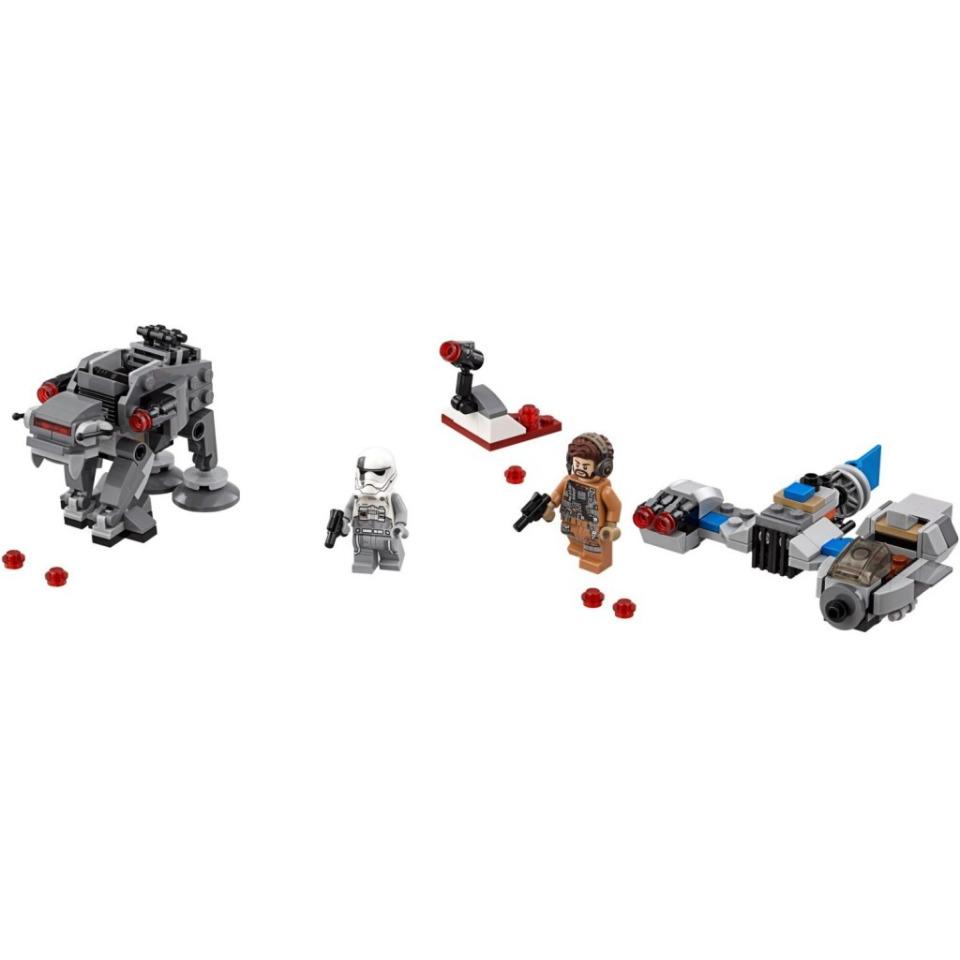 Obrázek 2 produktu LEGO Star Wars 75195 Snežný spídr™ a kráčející kolos Prvního řádu™