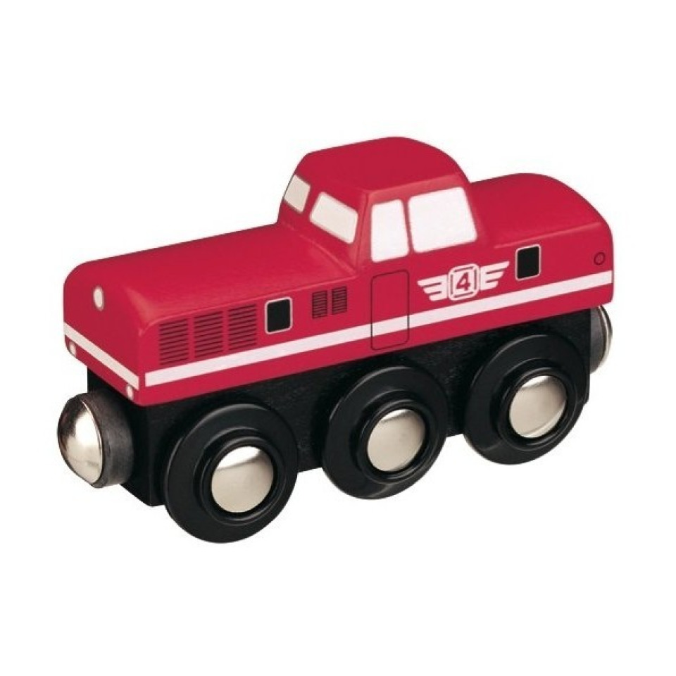 Obrázek 1 produktu Maxim 50815 Dieselová lokomotiva červená