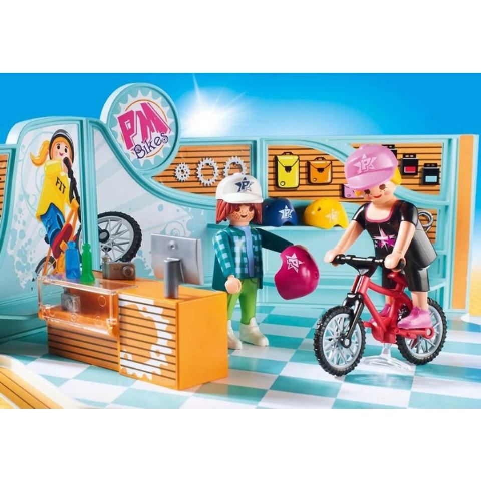 Obrázek 2 produktu Playmobil 9402 Cyklo & Skate Shop