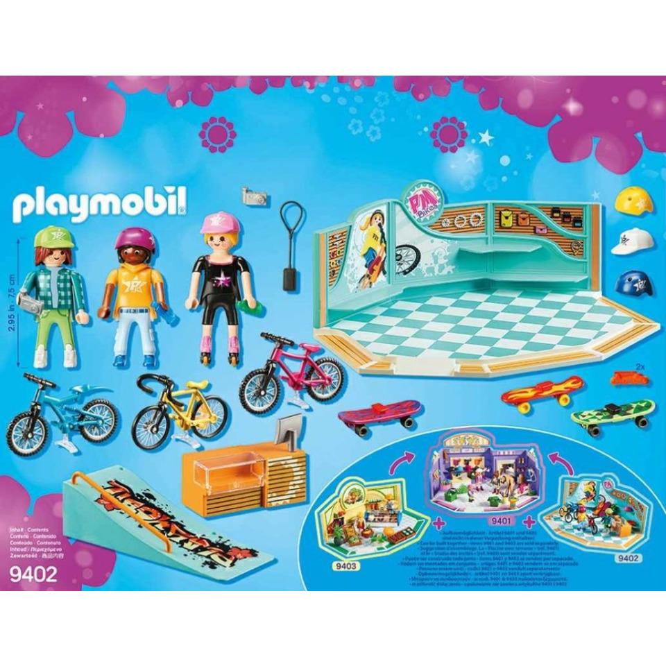 Obrázek 4 produktu Playmobil 9402 Cyklo & Skate Shop