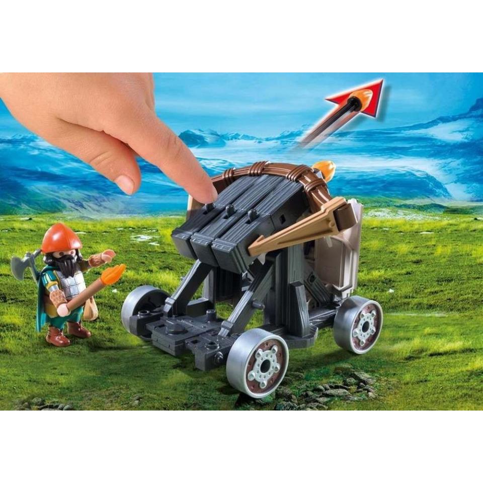 Obrázek 2 produktu Playmobil 9341 Poníci táhnoucí balistu s trpaslíky