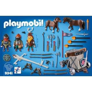 Obrázek 5 produktu Playmobil 9341 Poníci táhnoucí balistu s trpaslíky