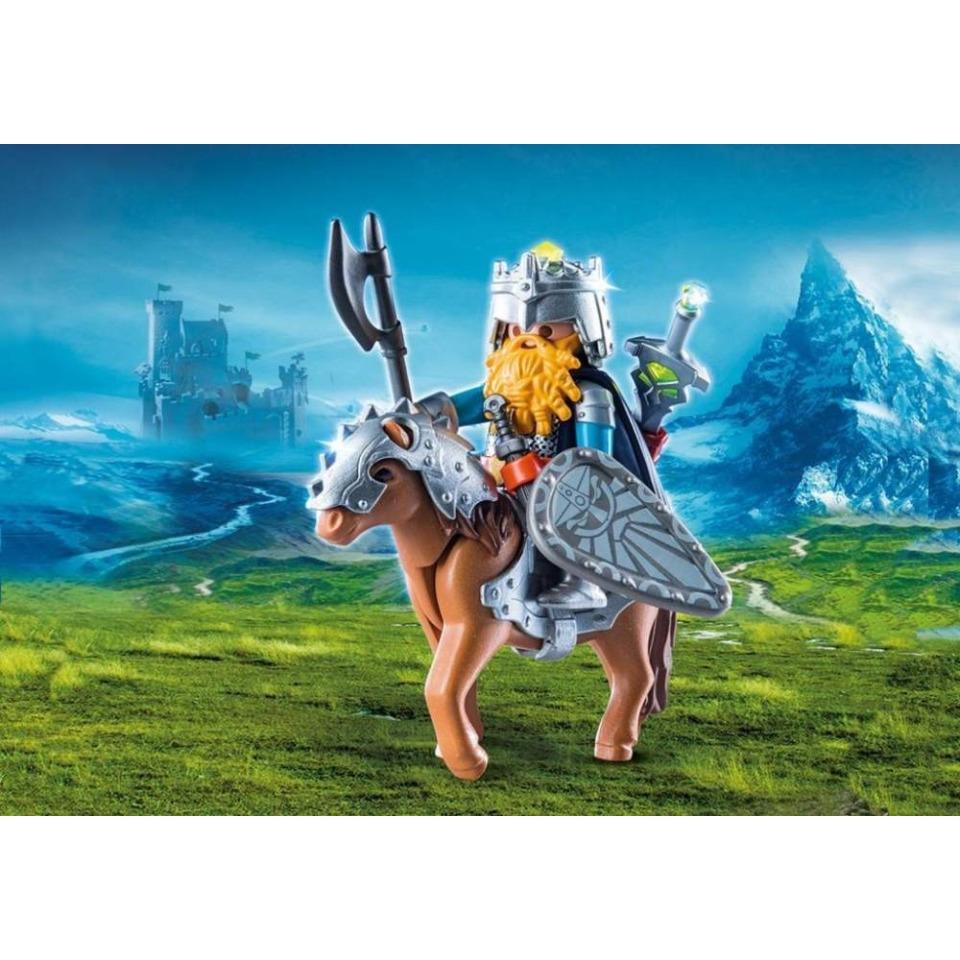 Obrázek 1 produktu Playmobil 9345 Trpaslík na poníkovi