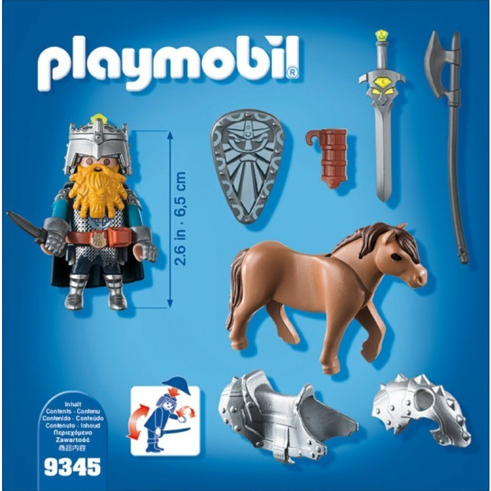 Obrázek 2 produktu Playmobil 9345 Trpaslík na poníkovi