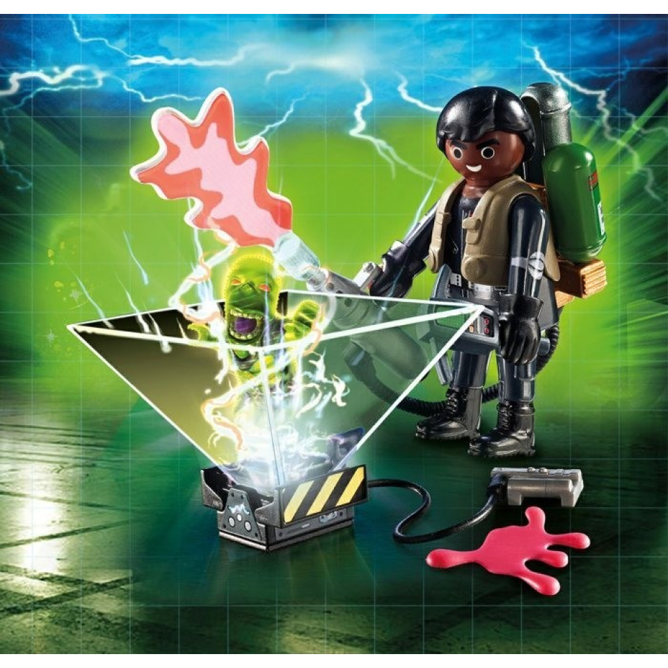 Obrázek 1 produktu Playmobil 9349 Ghostbusters II. Lovec duchů Zeddemore