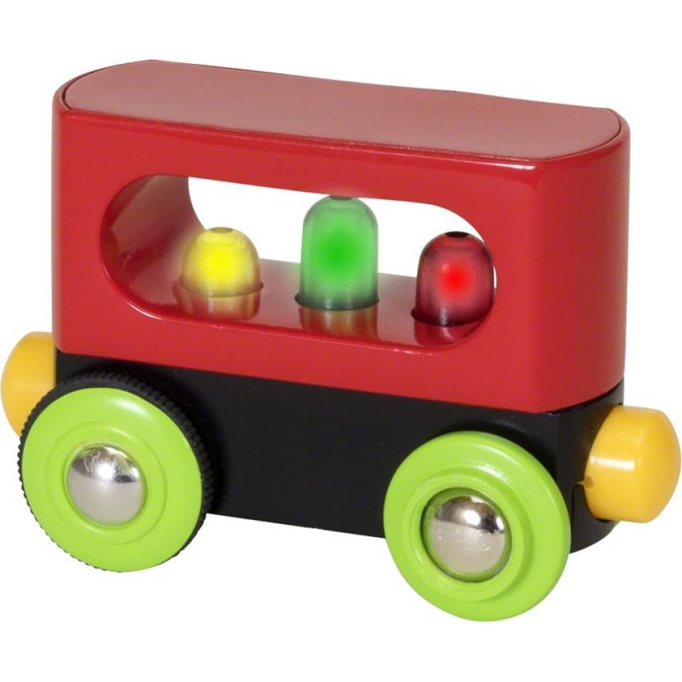 Obrázek 1 produktu BRIO 33708 Moje první železnice svítící vagón