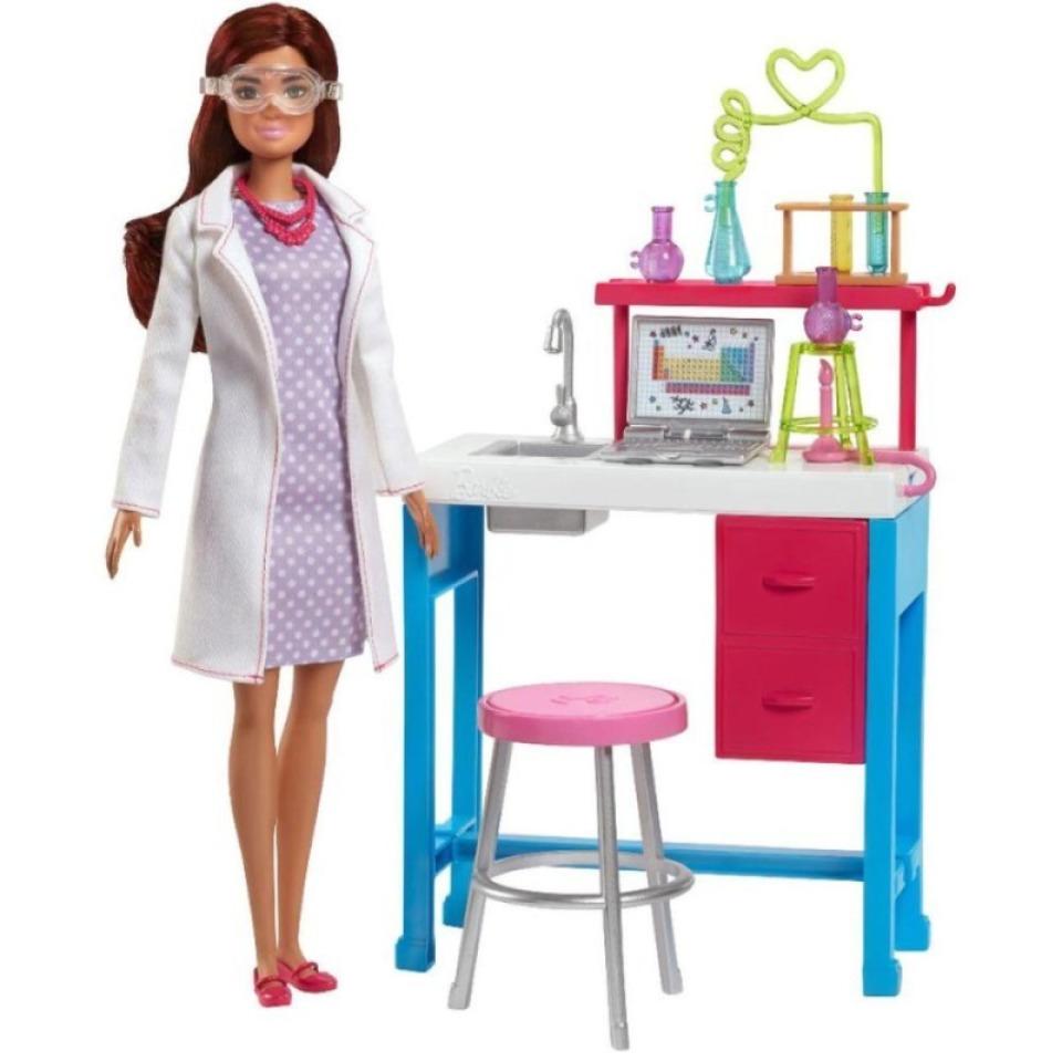 Obrázek 1 produktu Barbie Dokonalé pracoviště vědkyně, Mattel FJB28
