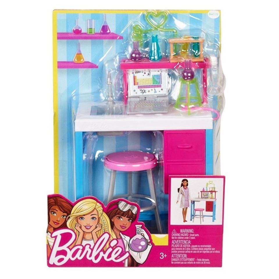 Obrázek 2 produktu Barbie Dokonalé pracoviště vědkyně, Mattel FJB28
