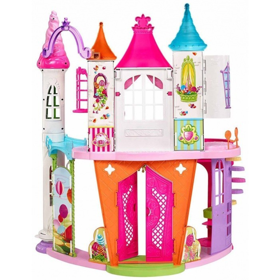Obrázek 1 produktu Barbie Zámek ze sladkého království, Mattel DYX32