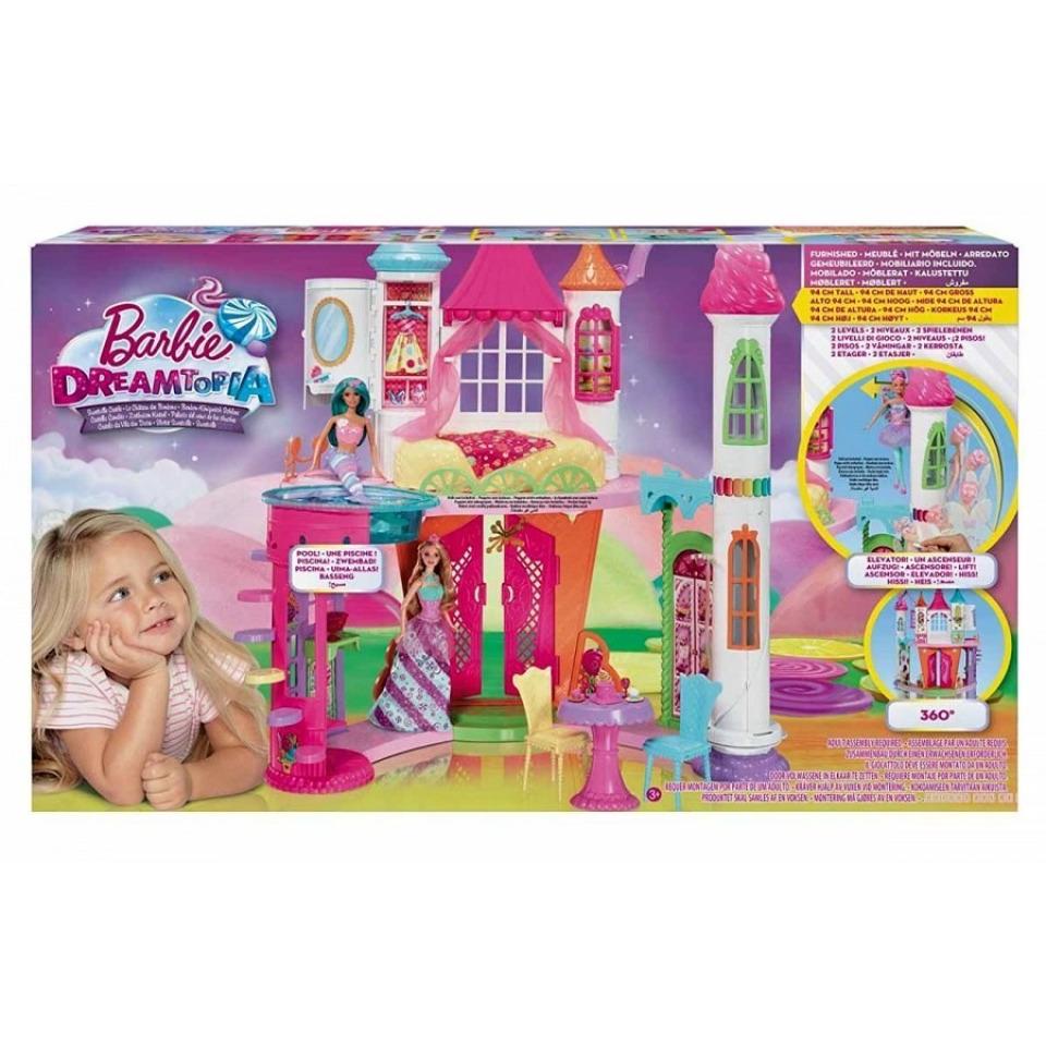 Obrázek 2 produktu Barbie Zámek ze sladkého království, Mattel DYX32