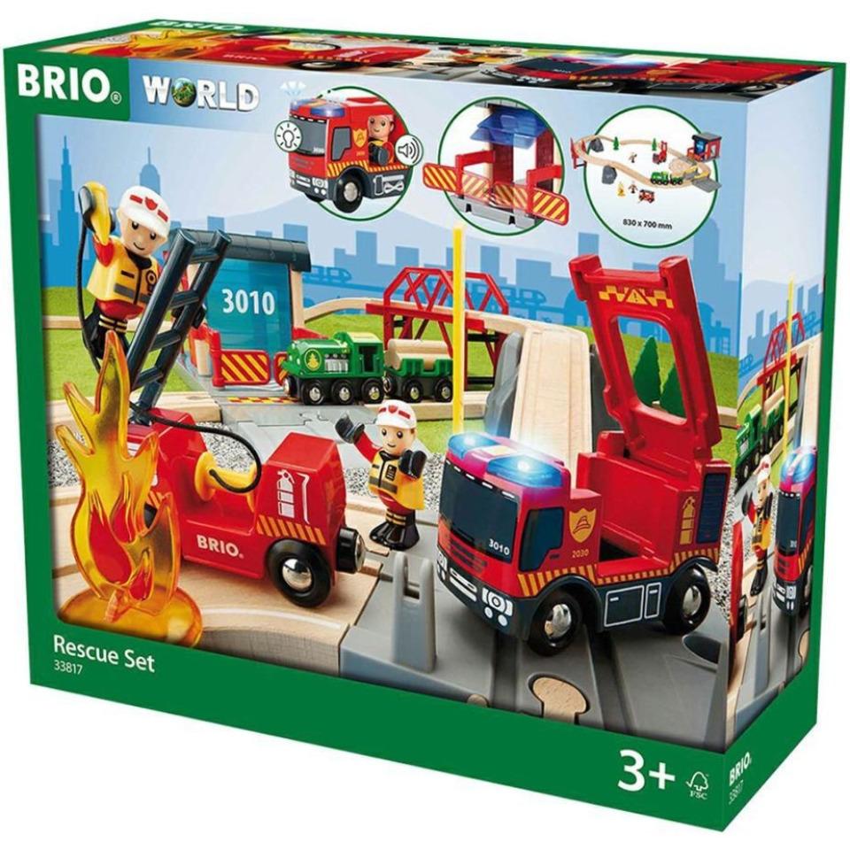Obrázek 1 produktu BRIO 33817 Záchranářská sada Deluxe