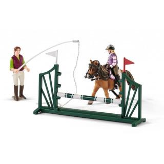 Obrázek 3 produktu Schleich 42389 Jezdecká škola s jezdci a koňmi
