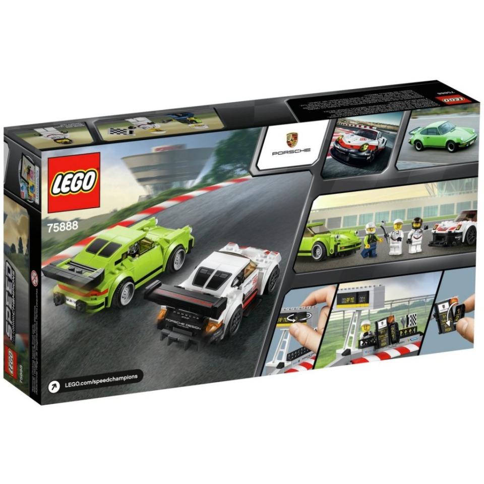 Obrázek 1 produktu LEGO Speed Champions 75888 Porsche 911 RSR a 911 Turbo 3.0