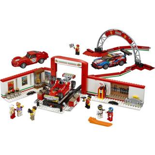 Obrázek 3 produktu LEGO Speed Champions 75889 Úžasná garáž Ferrari