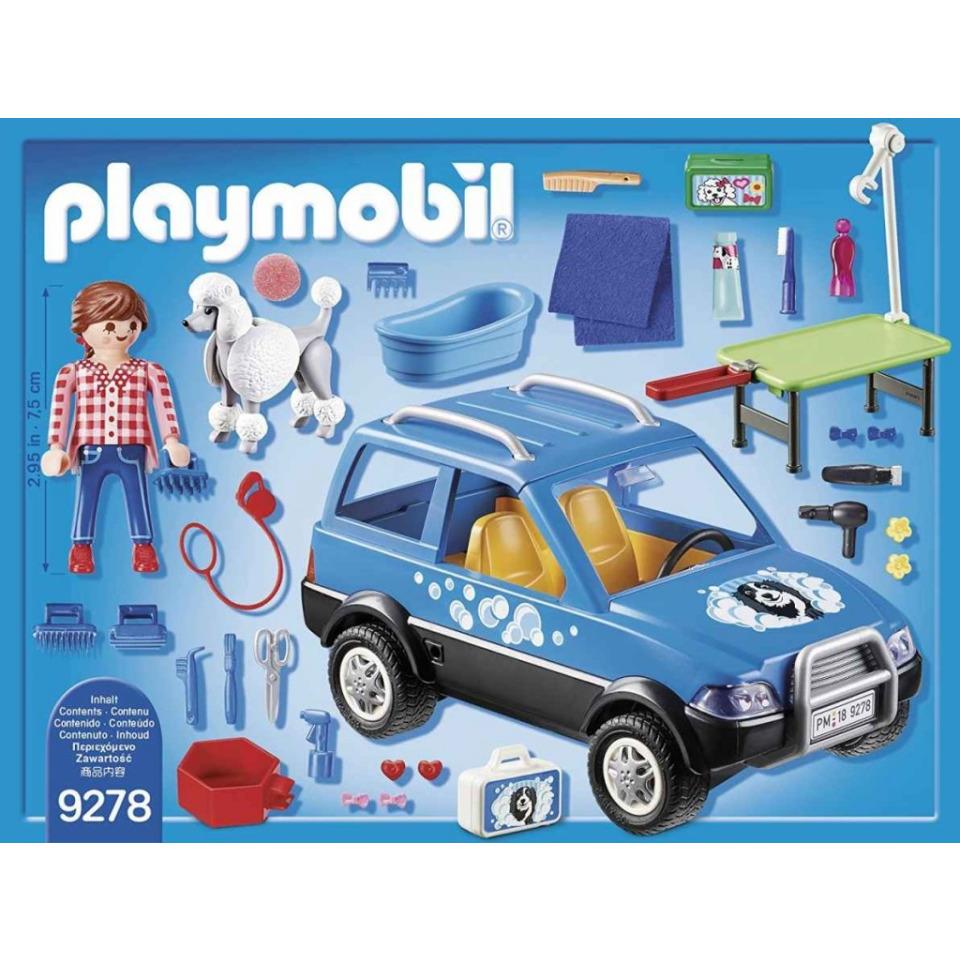 Obrázek 1 produktu Playmobil 9278 Mobilní psí salón